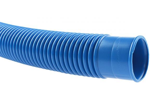 Schwimmbadschlauch mit Muffen - Poolflex - blau