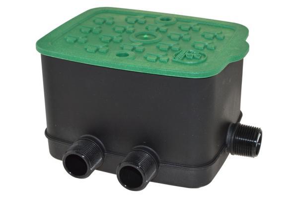 eZyvalve®4 - Ventilkasten mit 4 internen Magnetventilen