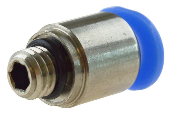 Steckverschraubung mit zylindrischem Außengewinde und Innensechskant, Pneumatik IQS, Mini