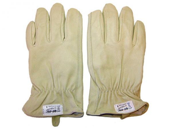 Driver-Handschuh Classic, Narbenleder gewachst