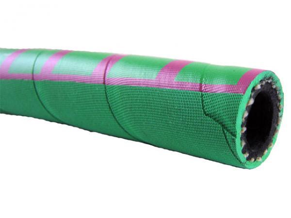 Mehrzweckschlauch Heißwasserschlauch Kobra-Grün