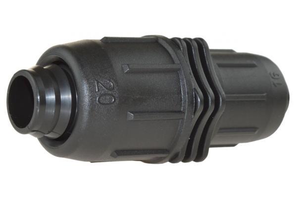 PE-Rohr Reduzierkupplung mit Schnellverschluss, PN 4
