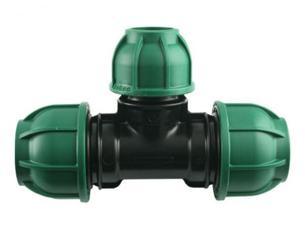 PE T-Stück 90° Reduziert - Brauchwasser