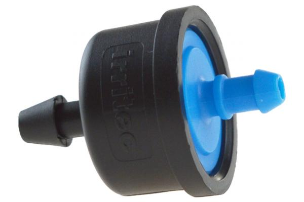 iDrop® DCG druckkompensierter Einzeltropfer, 2,2 l/h, blau