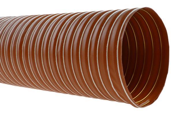 Silikon Heißluftschlauch einlagig (SIL 1) bis +300°C