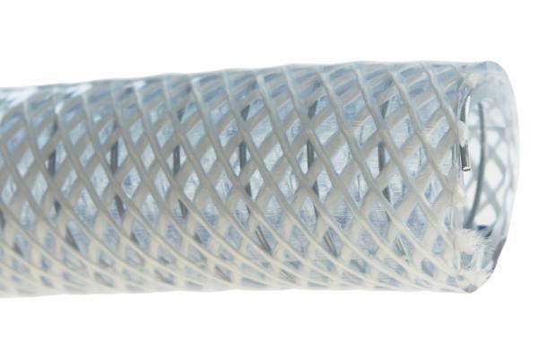 PVC Saugschlauch, Druckschlauch mit Stahlspirale und Gewebe